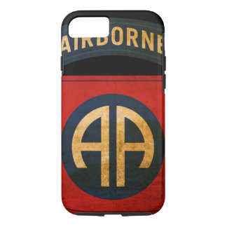 82nd Airborne Distressed Division Patch iPhone 7 iPhone 7 Case