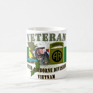 82nd Airborne Div-Vietnam (w/CIB) Classic White Coffee Mug