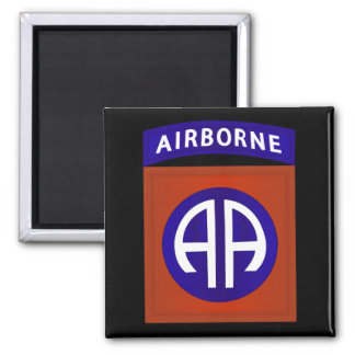 82nd AIRBORNE DIVISION 2 Inch Square Magnet