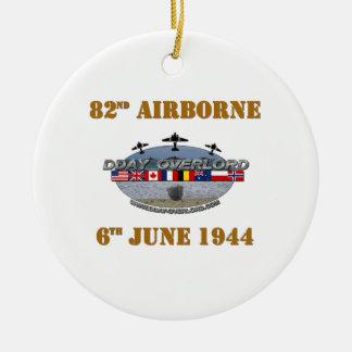 82nd Airborne Division 6th June 1944 Ceramic Ornament