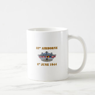 82nd Airborne Division 6th June 1944 Classic White Coffee Mug