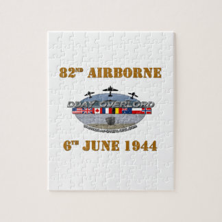 82nd Airborne Division 6th June 1944 Jigsaw Puzzle
