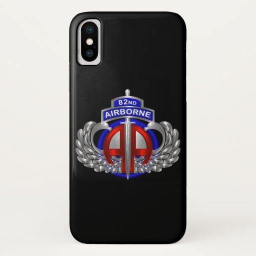 82nd Airborne Division Airborne Dagger iPhone X Case