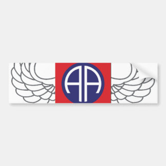 "82nd Airborne Division ""All American"" Bumper Sticker"