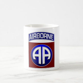 82nd Airborne Division All American Combat Patch Coffee Mug