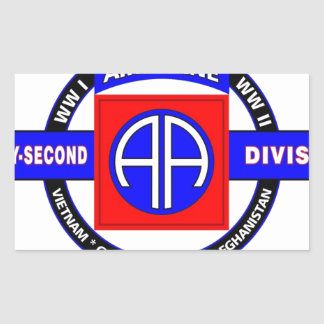 """82ND AIRBORNE DIVISION """"ALL AMERICAN"""" DIVISION STICKER"""