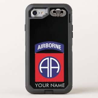 82nd Airborne Division  (All American) OtterBox Defender iPhone 8/7 Case