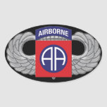 "82nd Airborne Division ""All American"" Oval Sticker"