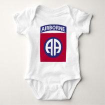 82nd Airborne Division Baby Bodysuit