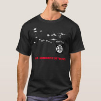82nd Airborne Division Black T-shirt