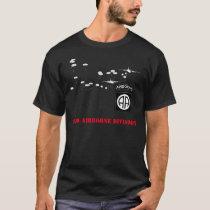 82nd Airborne Division Black T-shirt
