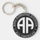 82nd Airborne Division Casual Patch Keychain