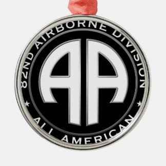 82nd Airborne Division Casual Patch Metal Ornament