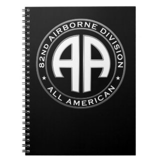 82nd Airborne Division Casual Patch Notebook
