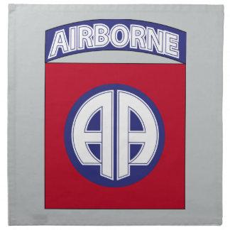 82nd Airborne Division - Combat Service Napkin