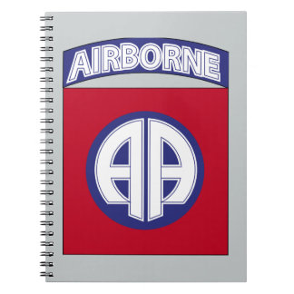 82nd Airborne Division - Combat Service Spiral Notebook