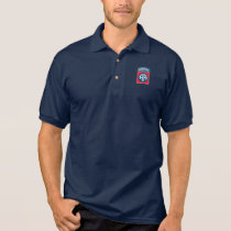 82nd Airborne Division Dark Polo shirt