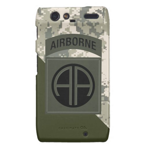 82nd Airborne Division Droid RAZR Cover