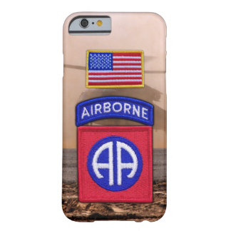 82nd airborne division fort bragg veterans vets barely there iPhone 6 case