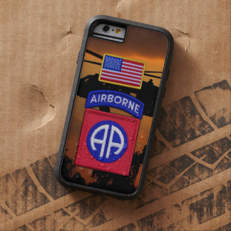 82nd airborne division fort bragg veterans vets tough xtreme iPhone 6 case