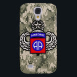 "82nd Airborne Division iPhone 3g Case<br><div class=""desc"">The 82nd Airborne Division is an airborne infantry division based at Fort Bragg, North Carolina. It is a subordinate unit of the XVIII Airborne Corps. The 82nd Division was constituted in the National Army on 5 August 1917, and was organized on 25 August 1917, at Camp Gordon, Georgia. Since its...</div>"
