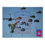 82nd airborne division nam patch post card