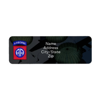 82nd airborne division nam war patch label