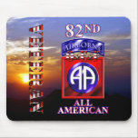 """82nd Airborne Division OEF Veteran Mouse Pad<br><div class=""""desc"""">82nd Airborne Division OEF Veteran</div>"""