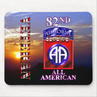 82nd Airborne Division OEF Veteran Mouse Pad