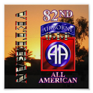 82nd Airborne Division OIF Veteran Print