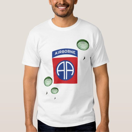 82nd Airborne Division Paratroopers Shirt