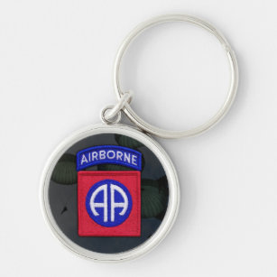 82nd Airborne Division Patch Keychain