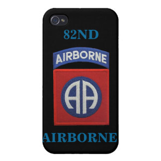 82nd airborne division patches vet gifts  iPhone 4 case
