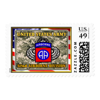 82nd airborne division Postage Stamp