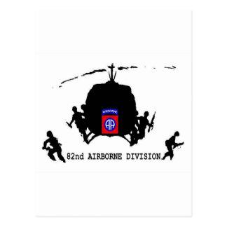 82nd AIRBORNE DIVISION Postcard