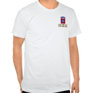 82nd Airborne Division SWA Combat Veteran Shirt