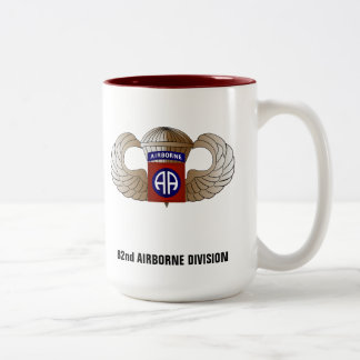 82nd AIRBORNE DIVISION Two-Tone Coffee Mug