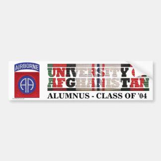82nd Airborne Division U of Afghanistan Sticker