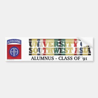 82nd Airborne Division U of Southwest Asia Sticker