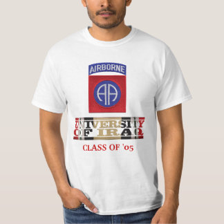 82nd Airborne Division University of Iraq Shirt