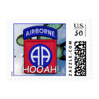82nd airborne division vets patch postage stamps