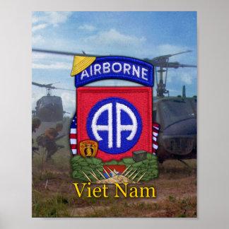 82nd Airborne Division Vietnam War Patch Print