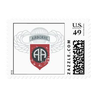 82nd Airborne Division Vintage Postage Stamps
