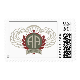 82nd Airborne Division Vintage Style Postage