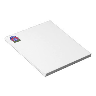 82nd airborne division war veterans vets Notepad