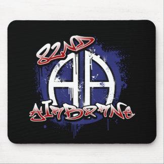 82nd Airborne Graffiti Mouse Pad