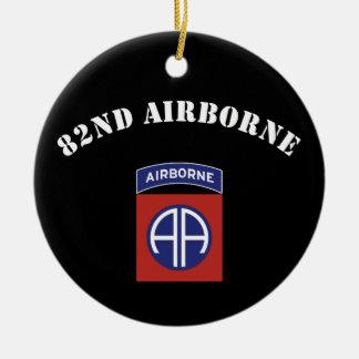 82nd Airborne Insignia Ceramic Ornament