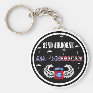82nd Airborne Keychain