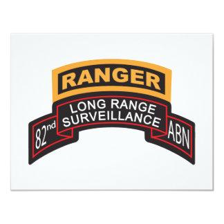82nd Airborne LRS Scroll, Ranger Tab Card