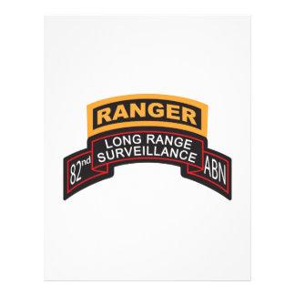82nd Airborne LRS Scroll, Ranger Tab Letterhead